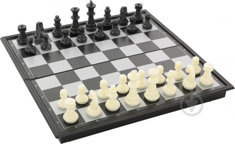 Игровой набор Shantou Шахматы, шашки, нарды 3 в 1 I307289 - фото 1