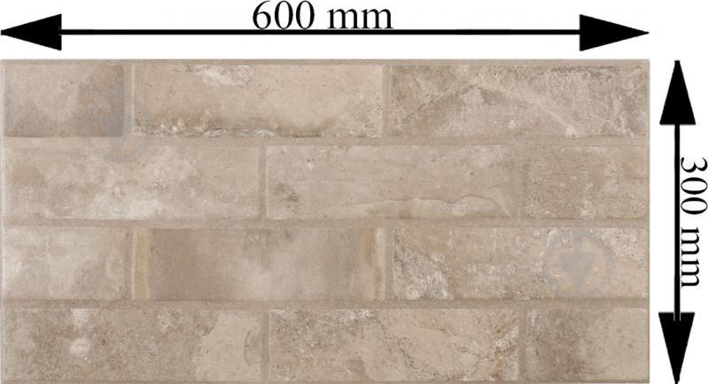 Плитка Zeus Ceramica Brickstone beige ZNXBS3 30x60 - фото 4