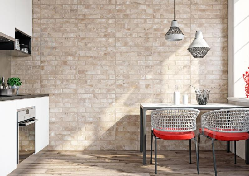 Плитка Zeus Ceramica Brickstone beige ZNXBS3 30x60 - фото 5