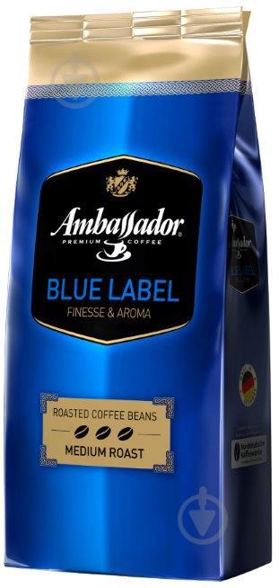 Кофе в зернах Ambassador Blue Label 1000 г (7612654000034) - фото 1