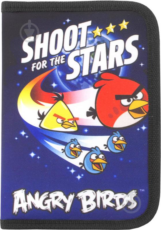 Пенал Angry Birds АВ03378 Cool For School синий - фото 1