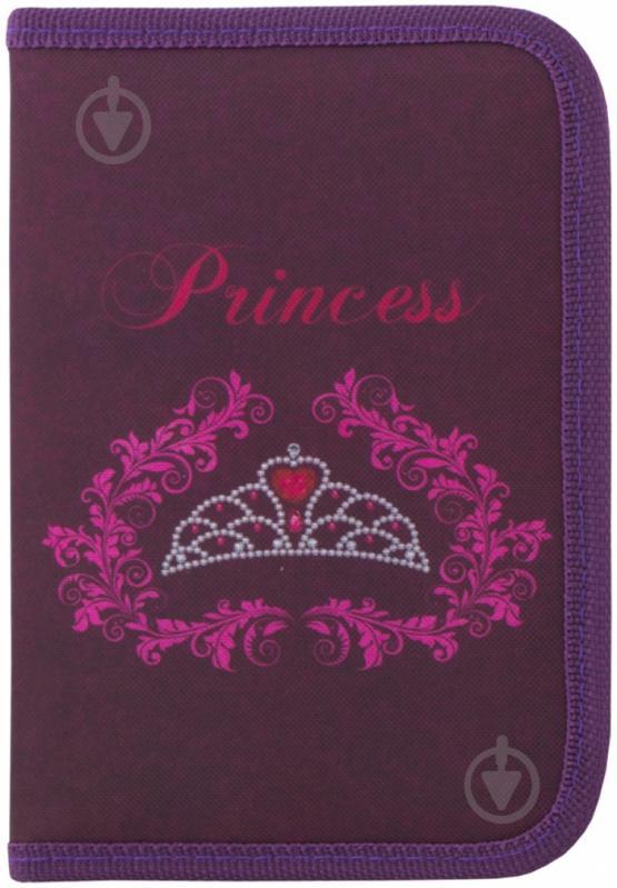 Пенал Princess CF85389 Cool For School темно-фиолетовый - фото 1