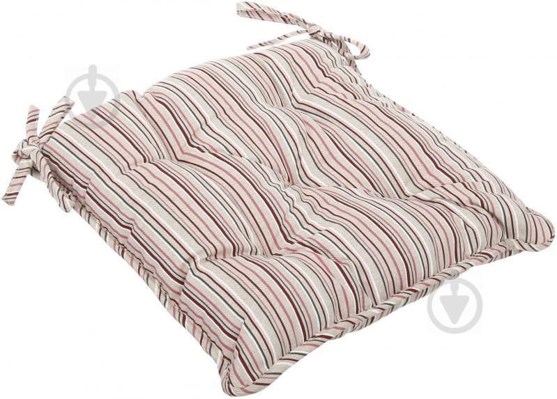 Подушка на стілець Вінтаж Смужка 40x40 см La Nuit - фото 2