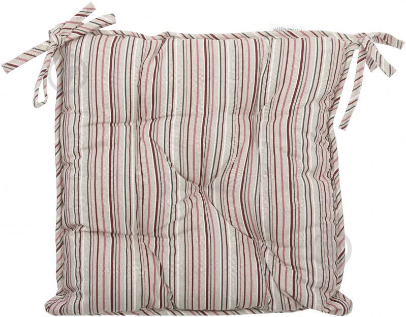 Подушка на стілець Вінтаж Смужка 40x40 см La Nuit - фото 1