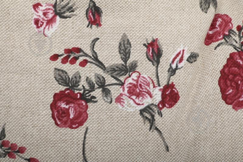 Подушка на стілець Вінтаж Троянди кругла d 40 см La Nuit - фото 3