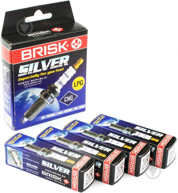 Свічка запалювання BRISK SILVER DR15YS - фото 2