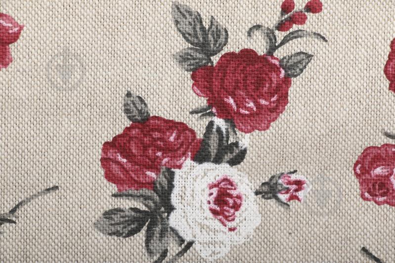 Серветка La Nuit Вінтаж Троянди 35x45 см бежевий із червоним - фото 3