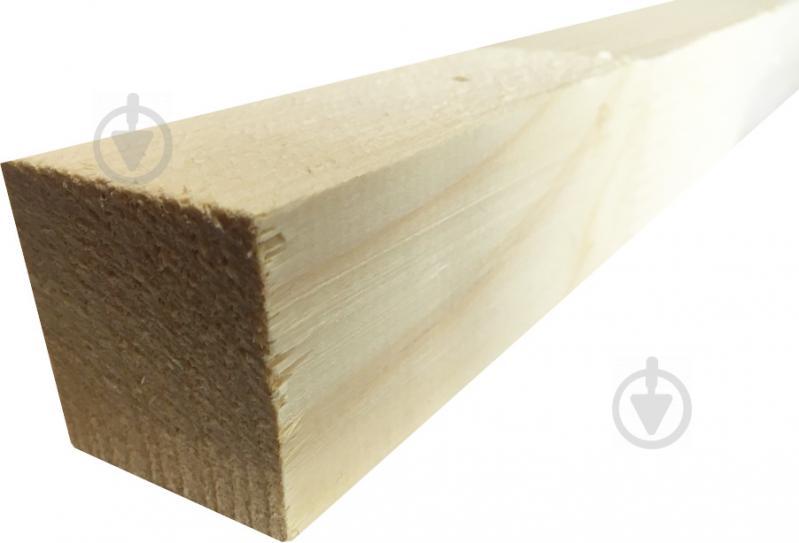 Брус ЦБМ Осмолода цельная конструкция 50х50х3000 мм карпатская ель