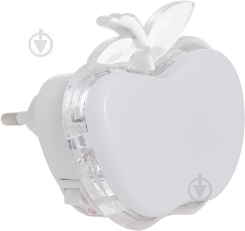 Нічник LightMaster Яблуко 3 Вт білий DEL4004 - фото 2