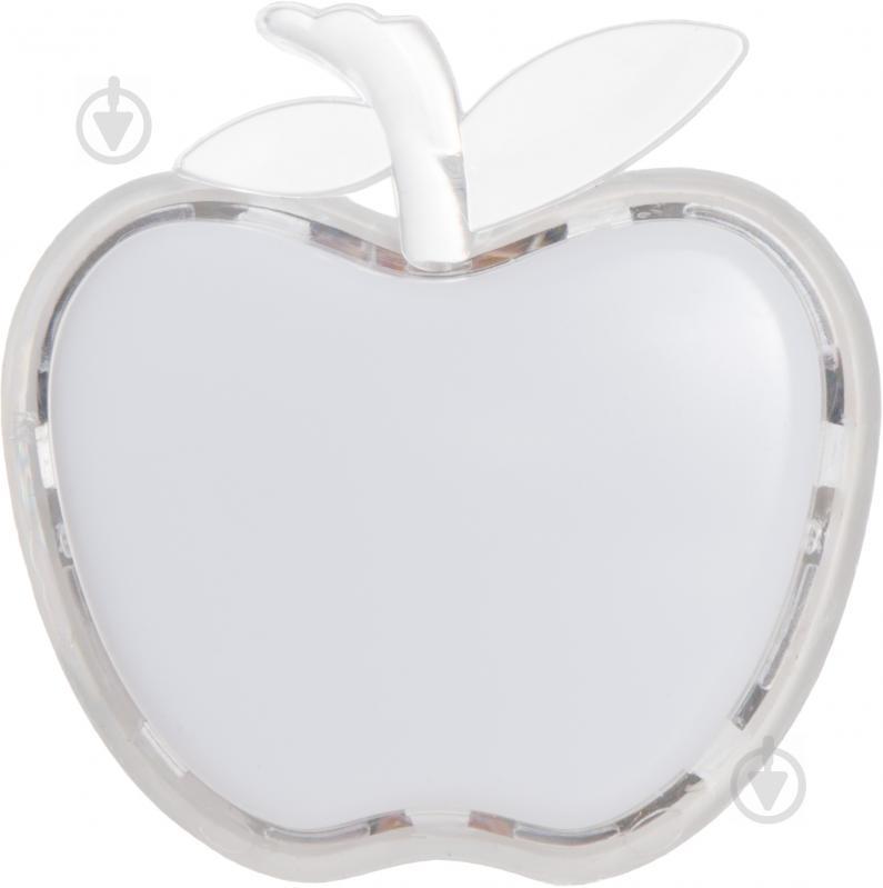 Нічник LightMaster Яблуко 3 Вт білий DEL4004 - фото 1