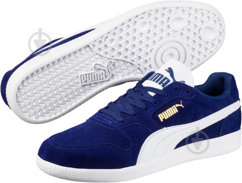 Кроссовки Puma Icra Trainer SD 35674129 р. 7.5 синий - фото 1