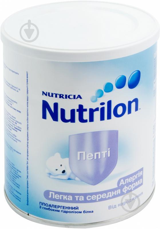 Сухая молочная смесь Nutrilon Пепти 1 573514 400 г 8718117601653 - фото 1