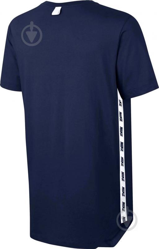 Футболка Nike M NSW TEE AV LBR р. M синій 877086-429 - фото 2