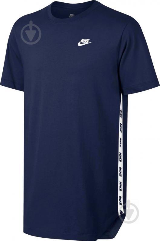 Футболка Nike M NSW TEE AV LBR р. M синій 877086-429 - фото 1