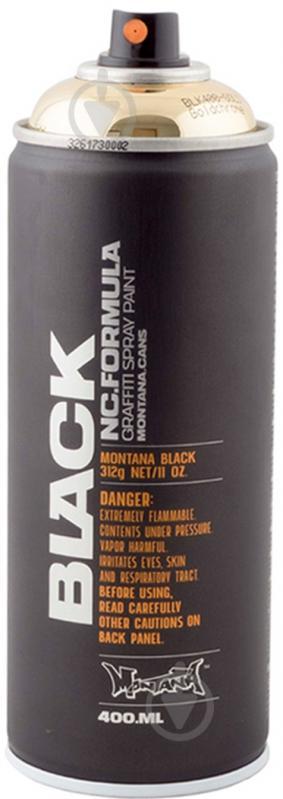 Краска аэрозольная Montana BLACK Goldhrome глянец 400 мл - фото 1