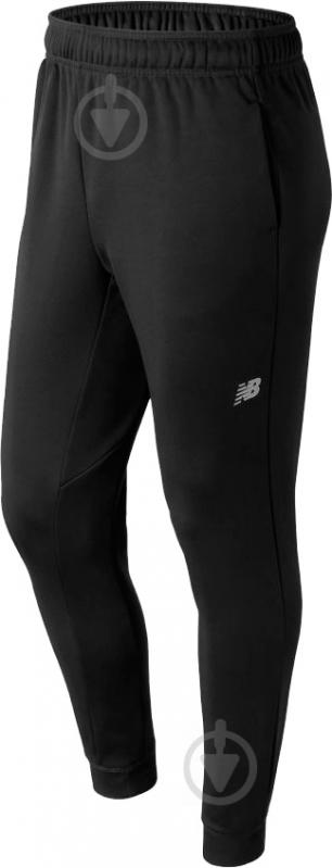 Брюки New Balance Game Changer Fleece Jogger р. L черный MP73011BK - фото 1