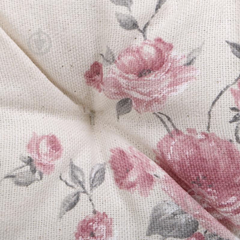 Подушка на стілець Троянди кругла D 40 Прованс - фото 3