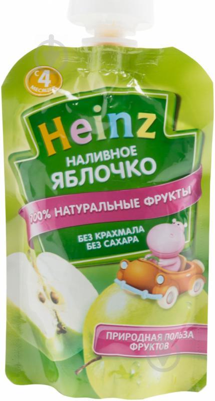 Пюре Heinz Наливное яблочко 100 г 4600689603088 - фото 1