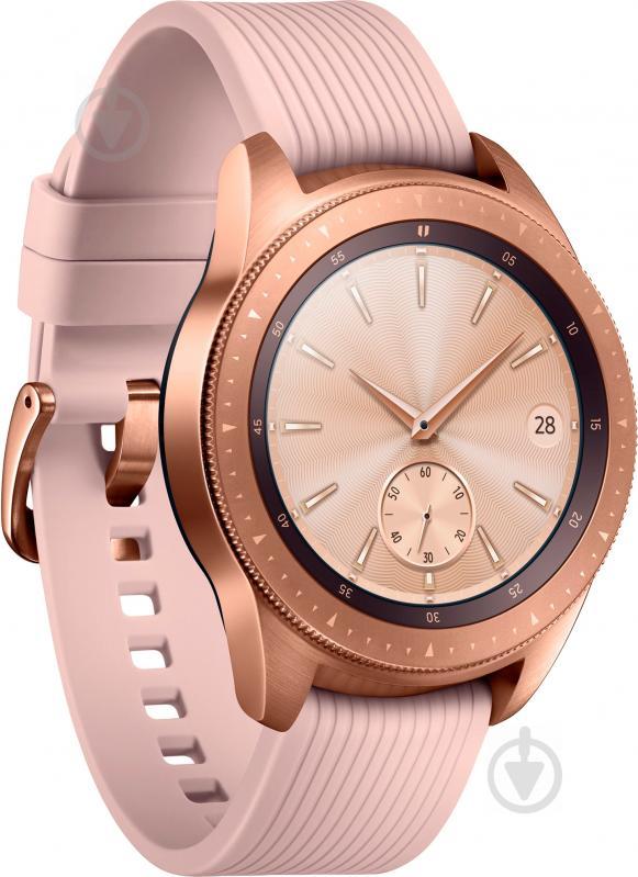 Смарт-годинник Samsung Galaxy Watch 42mm rose gold (SM-R810NZDASEK) - фото 6fd0e03ca5288