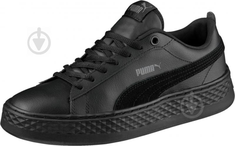 Кеды Puma Smash Platform L 36648701 р. 6,5 черный - фото 1