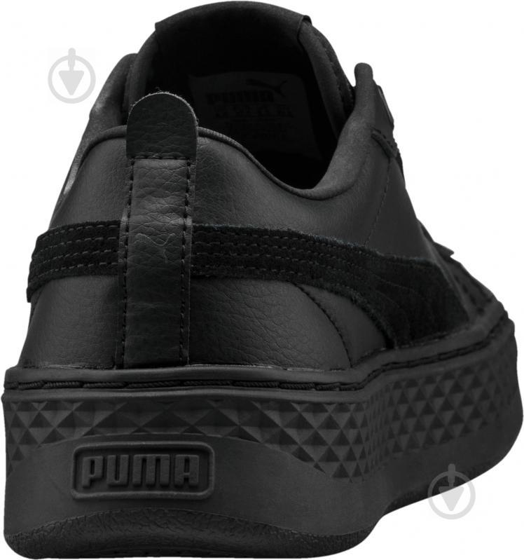 Кеды Puma Smash Platform L 36648701 р. 6,5 черный - фото 4