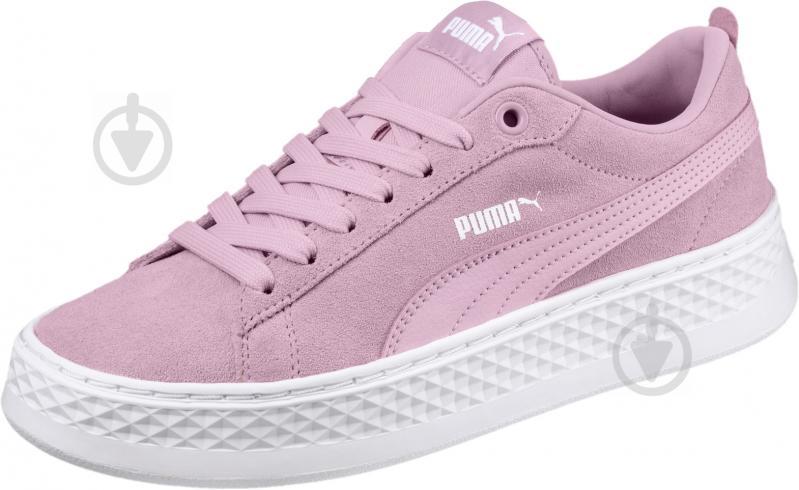 Кеды Puma 36648806 р. 4,5 розовый - фото 1