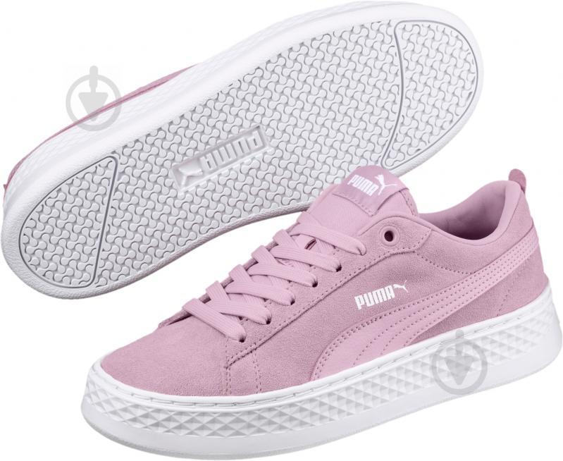 Кеды Puma 36648806 р. 4,5 розовый - фото 4