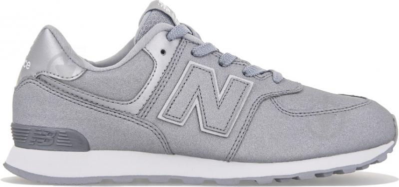Кроссовки New Balance 574 GC574KS р.7 серебристый - фото 1