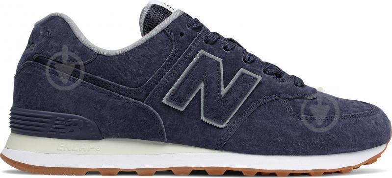 Кроссовки New Balance 574 ML574EPA р.9,5 синий - фото 1