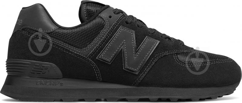 Кроссовки New Balance 574 ML574ETE р.11,5 черный - фото 1