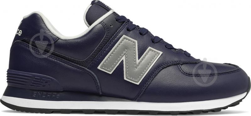 Кроссовки New Balance 574 ML574LPN р.11 синий - фото 1