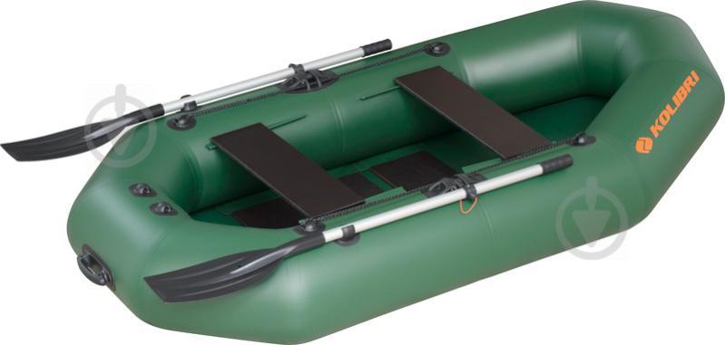 Човен Kolibri K-250T.01.01 зелений - фото 1