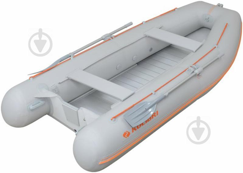 Лодка Kolibri KM-360DSL.05.03 светло-серый - фото 1