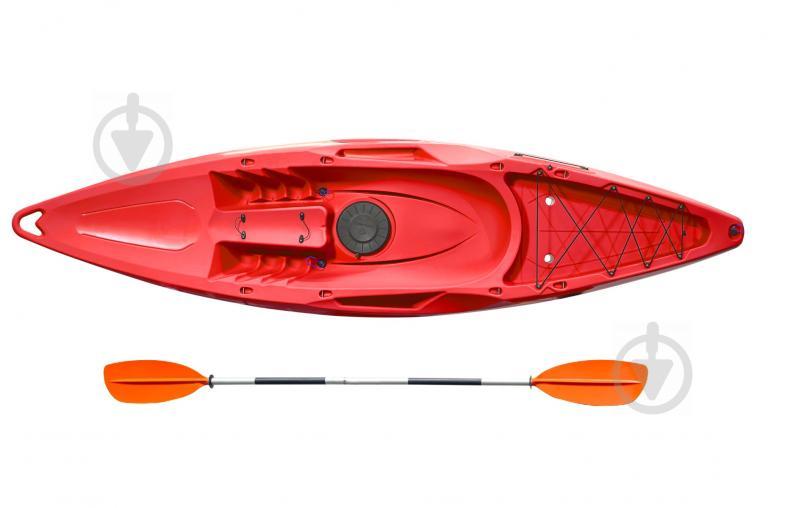 Каяк Riverday (ex Kolibri) OnWave-300 одномісний (K-1.OW.77), з веслом, червоний