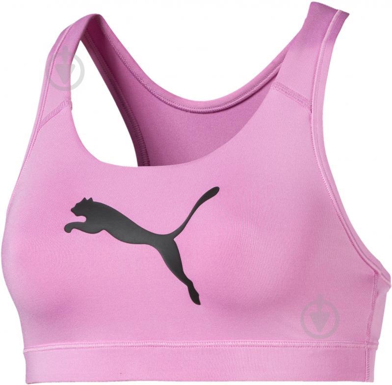 Топ Puma 4Keeps Bra M р. XS розовый 51699608 - фото 1