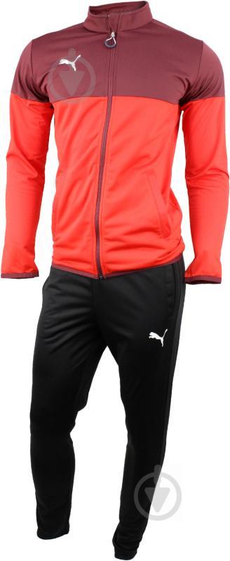 Спортивный костюм Puma ftblPLAY Tracksuit р. S черный 65593501 - фото 1