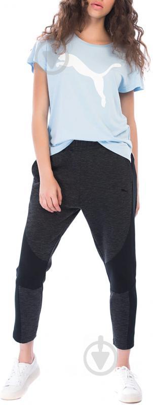 Брюки Puma EVOSTRIPE Pants р. XS черный 85190601 - фото 1