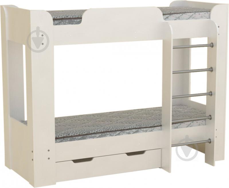 Кровать Компанит Твикс-2 70х190 см нимфея альба - фото 1