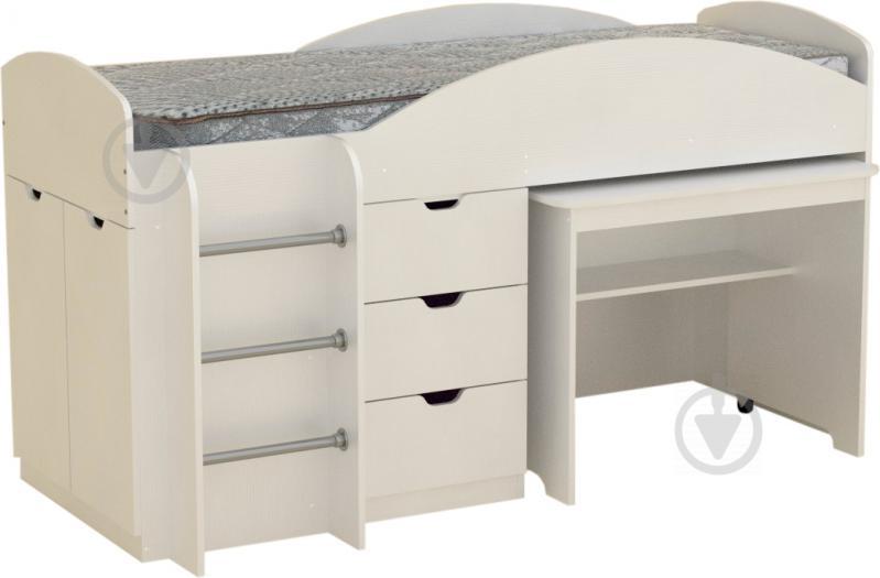 Ліжко-гірка Компаніт Універсал 70х190 см німфея альба - фото 1