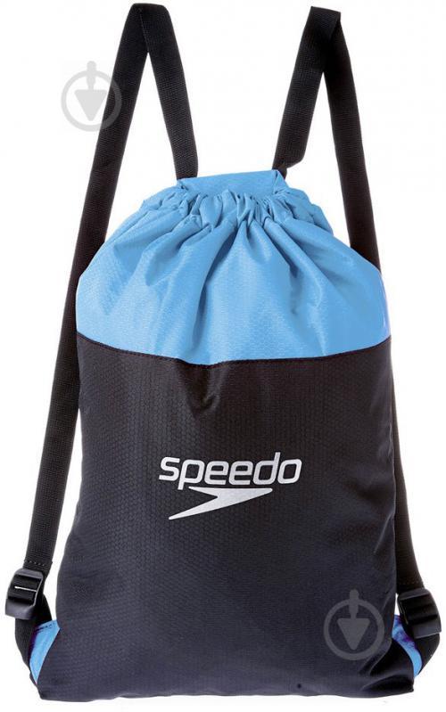Сумка-рюкзак Speedo Pool Bag 809063A670 сіро-блакитний - фото 1