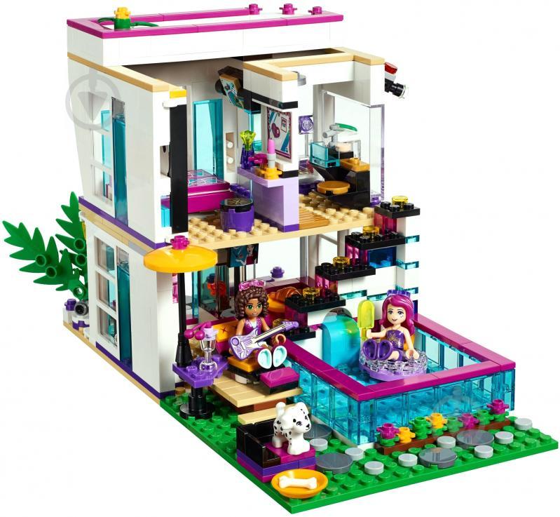 Конструктор LEGO Friends Дім поп-зірки Ліві 41135 - фото 4