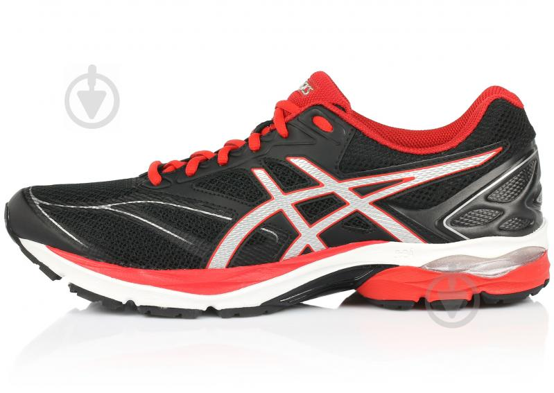 Кросівки Asics GEL-PULSE 8 T6E1N-9023 р.10.5 чорно-червоний - фото 1