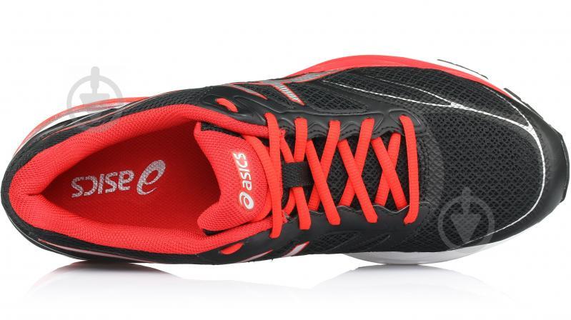 Кросівки Asics GEL-PULSE 8 T6E1N-9023 р.10.5 чорно-червоний - фото 4