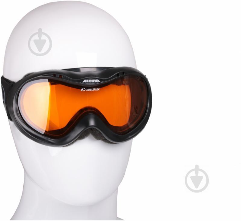 Гірськолижна маска Alpina Free black A7005-31 - фото 1