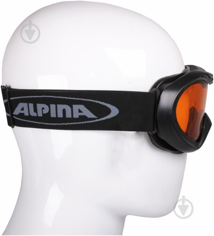 Гірськолижна маска Alpina Free black A7005-31 - фото 2