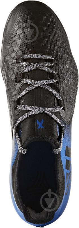 Футбольные бутсы Adidas X TANGO BA9470 р. 9 черно-синий - фото 4