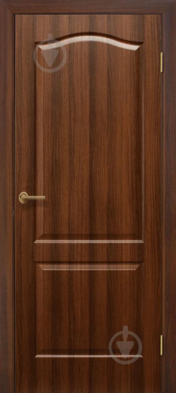 Дверне полотно ОМіС Класика ПГ 600 мм горіх - фото 1