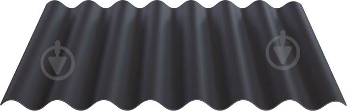 Лист волокнистоцементний IFCEM FIBRODAH Modern 585х1130 мм графіт - фото 1