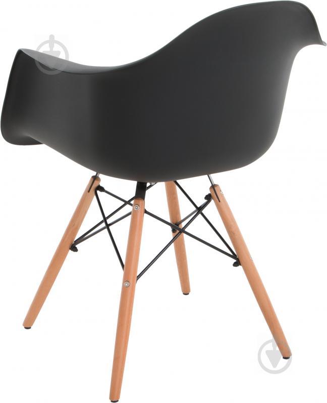 Стул Style black с подлокотниками - фото 3