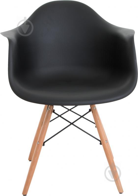 Стул Style black с подлокотниками - фото 2